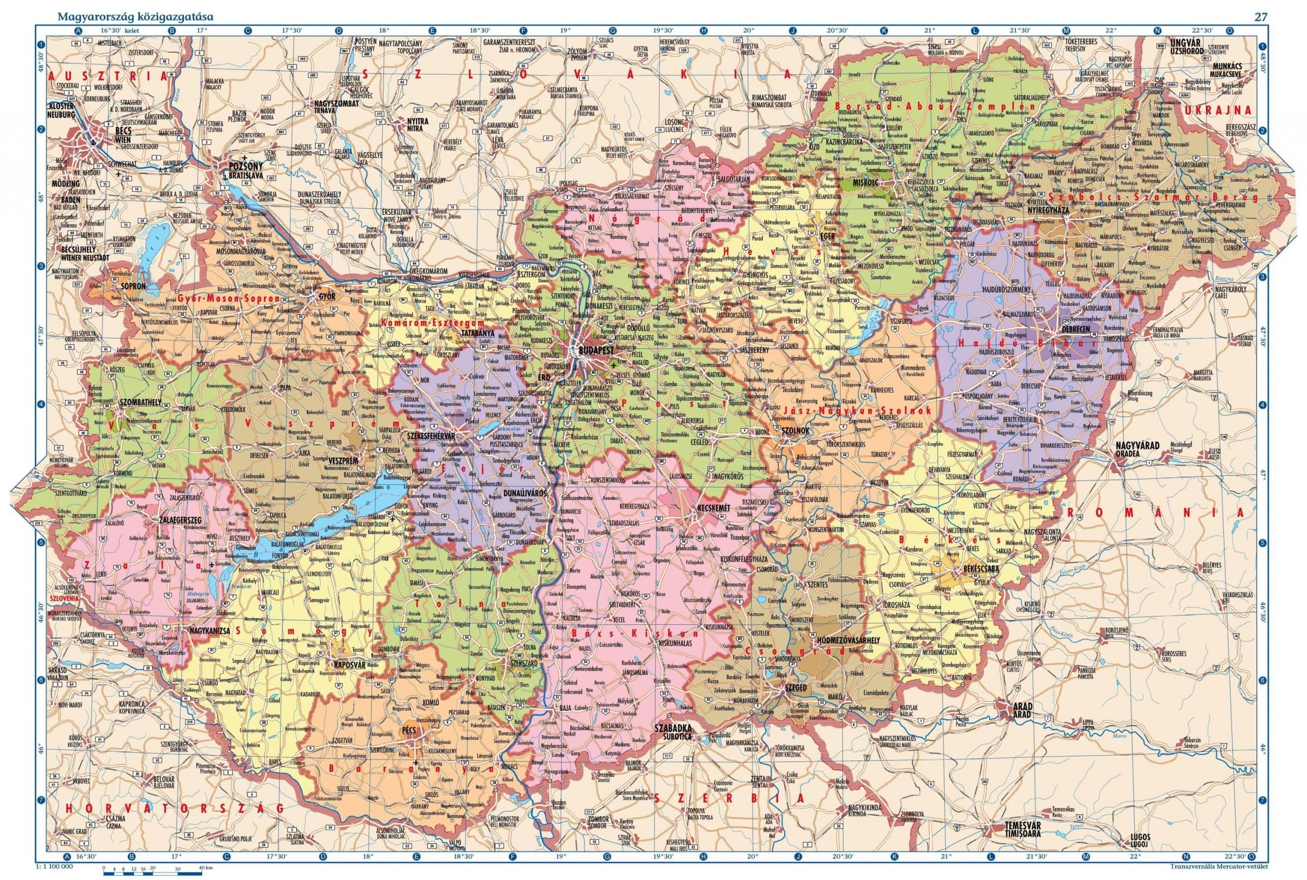térkép magyarország letöltés Térképek térkép magyarország letöltés
